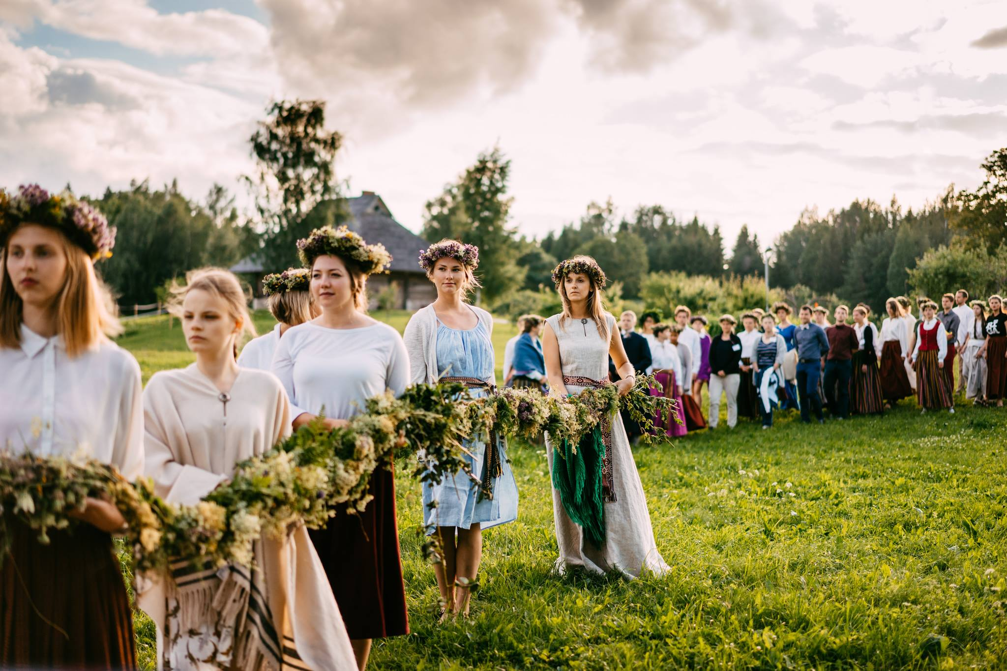 "Traditional Latvian Midsummer Festival ""Līgo"""
